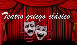 Teatro Griego en la época clásica