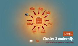 Cluster 2 onderwijs