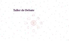 Taller de Debate