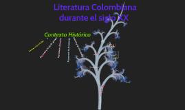 Literatura Colombiana siglo XX