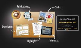 Curriculum Vitae - Richard Hopkins