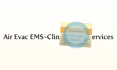 Air Evac EMS-Clinical Care Services