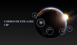 CODIGO DE ETICA DEL CIP