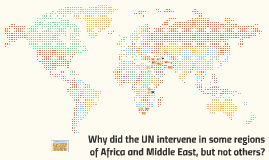 UN Intervention in Middle East & Africa