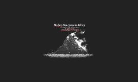 Nabro Volcano in Africa