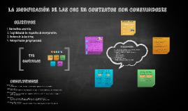 LA MODIFICACIÓN DE LAS CGC EN CONTRATOS CON CONSUMIDORES