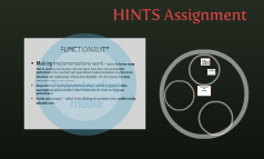 HINTS Assignment