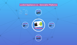 Locked Appliances vs.  Generative Platforms