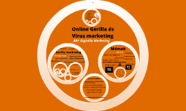 Copy of Online Gerilla és Vírus marketing