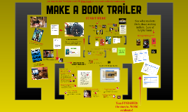 How To Make A Book Trailer Adapted from MH