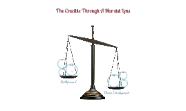 The Crucible Seminar