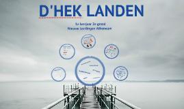 Infosessie D'Hek 3de jaars 2017-2018