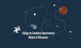 Código de Conducta Constructora Molina & Villanueva.