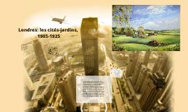 Copy of Formes urbaines : Cité-jardin