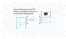Open Government and ICT