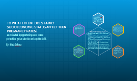 TO WHAT EXTENT DOES FAMILY SOCIOECONOMIC STATUS AFFECT TEEN