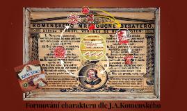 Fromování charakteru dle J.A.Komenského