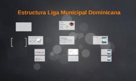 Estructura Liga Municipal Dominicana