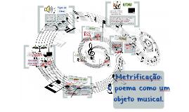Metrificação: o poema como um objeto musical.