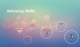 Advising Skills (Rowan Advising Class