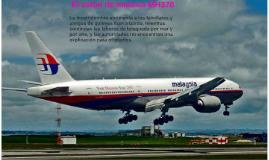 El avión de malasia MH370