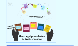 Marco legal general sobre inclusión educativa