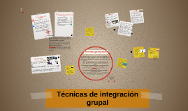 Copy of Técnicas de integración grupal