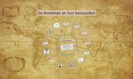 De Romeinen en hun bestuurders