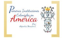 Copy of PRIMERAS INSTITUCIONES COLONIALES EN AMÉRICA