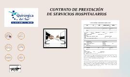 Contrato de Prestacion de Servicios Hospitalarios