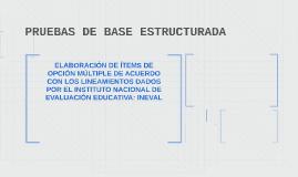 PRUEBAS DE BASE ESTRUCTURADA