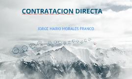 Contratacion directa