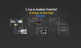 Is God on Academic Probation?
