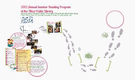 2012 Summer Reading Program at Utica Public Library