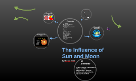 The Influence of Sun and Moon