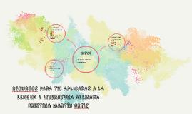 TIC PARA LENGUA Y LITERATURAS ALEMANAS