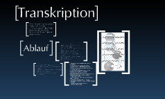 Protein Biosynthese - Transkription