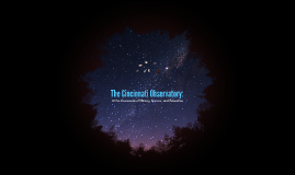 The Cincinnati Observatory: