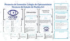 Proyecto de Inversion Colegio de Optometristas Tecnicos del