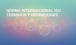 NORMA INTERNACIONAL ISO