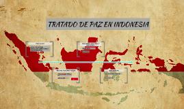 TRATADO DE PAZ EN INDONESIA