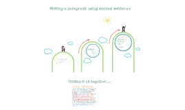 Copy of Writing a paragraph using textual evidence