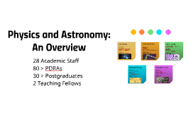 Copy of Physics and Astronomy
