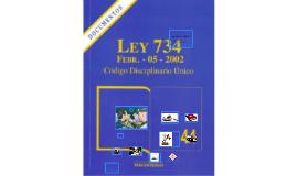LEY 734 DEL 2002