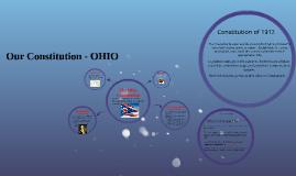 Copy of The Ohio Constitution