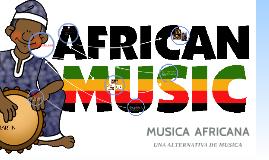 MUSICA ASIATICA Y AFRICANA