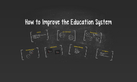 How to Improve the Education System