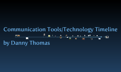 Communication Tools/Technology Timeline