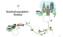 Stockholmsprojektet - Rinkeby