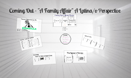 "Copy of Coming Out - ""A Family Affair"" A Latina/o Perspective"
